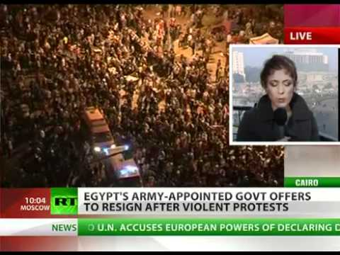 Egypt: Cabinet resigns after three days of violent clashes with protesters