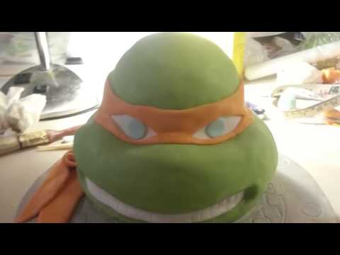 teenage mutant ninja turtle cake (tmnt)