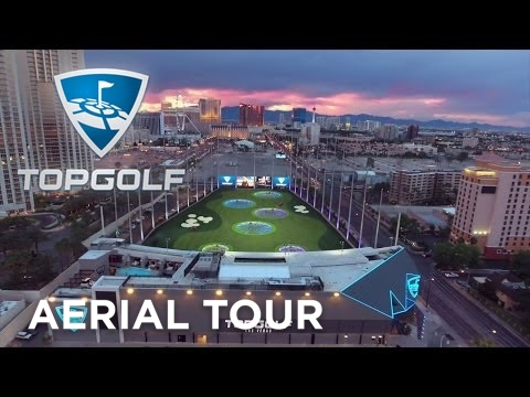 Topgolf Las Vegas | Sunset Aerial Tour | Topgolf