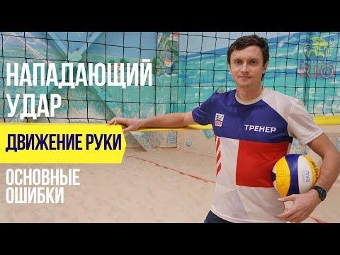 Основные ошибки при нападающем ударе в пляжном волейболе.