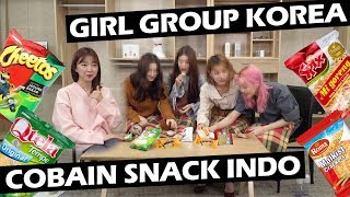 Download Lagu GIRL GROUP IDOL KOREA COBAIN SNACK INDO ft. MOMOLAND Gratis STAFABAND