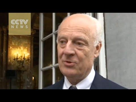 UN Syria Envoy: delivering aid in Syria a top priority