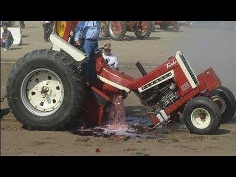İnanılmaz Dev Traktör Kazaları