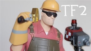 TF2 Red Engineer Exclusive Statue Unboxing Gaming Heads