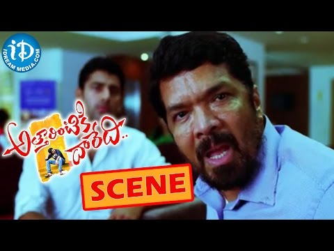 Atharintiki Daredi Movie Scenes – Posani Krishna Murali Plans To Take Revenge On Nadhiya Photo Image Pic