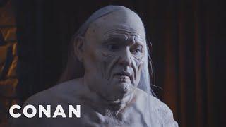 Conan Goes The Full Melisandre At #ConanCon  - CONAN on TBS
