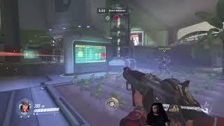 Hard Message's Live Stream - Overwatch Competitive Gold/Plat (Comp Junkrat/Moira/Ana/Reinhardt)