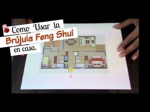 Como usar la brujula con feng shui en casa youtube for Como limpiar casa segun feng shui