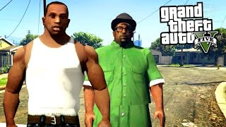 GTA 5 - CJ & Big Smoke Skin Mods [Mod Showcase]