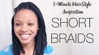 1-Minute HairStyle Inspiration: Braided Bob