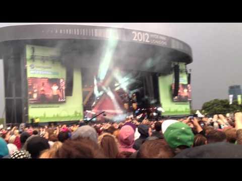 Rihanna's Entrance (only) - Barclaycard Wireless Festival 2012 - 8th July.