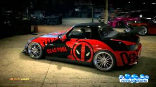 Need for Speed | Honda S2000 | Dead Pool | Tuning | Customization | Wraps