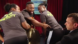The New Day celebrate their place in WWE's tag team division:   Aug. 26, 2015