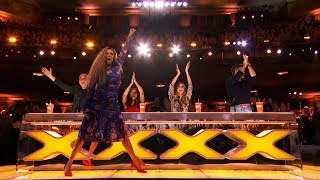 TOP 4 GOLDEN BUZZER America's Got Talent 2018