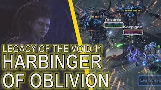 Starcraft II: Legacy of the Void Mission 11 - Harbinger of Oblivion [ALL ACHIEVEMENTS!]
