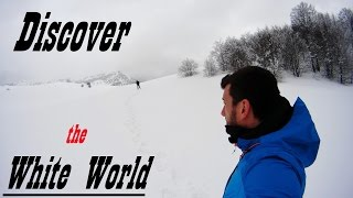 Discovering the white world, Sony action cam HDR-AS30V Full HD 60 & 120 fps video test (Wild Italy)