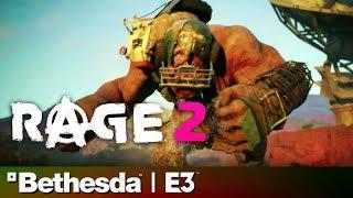 Rage 2 Full Reveal & Gameplay Presentation   Bethesda E3 2018