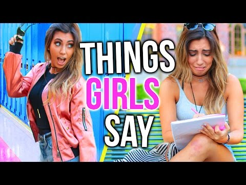 Things Girls Say vs What They Mean IN SCHOOL