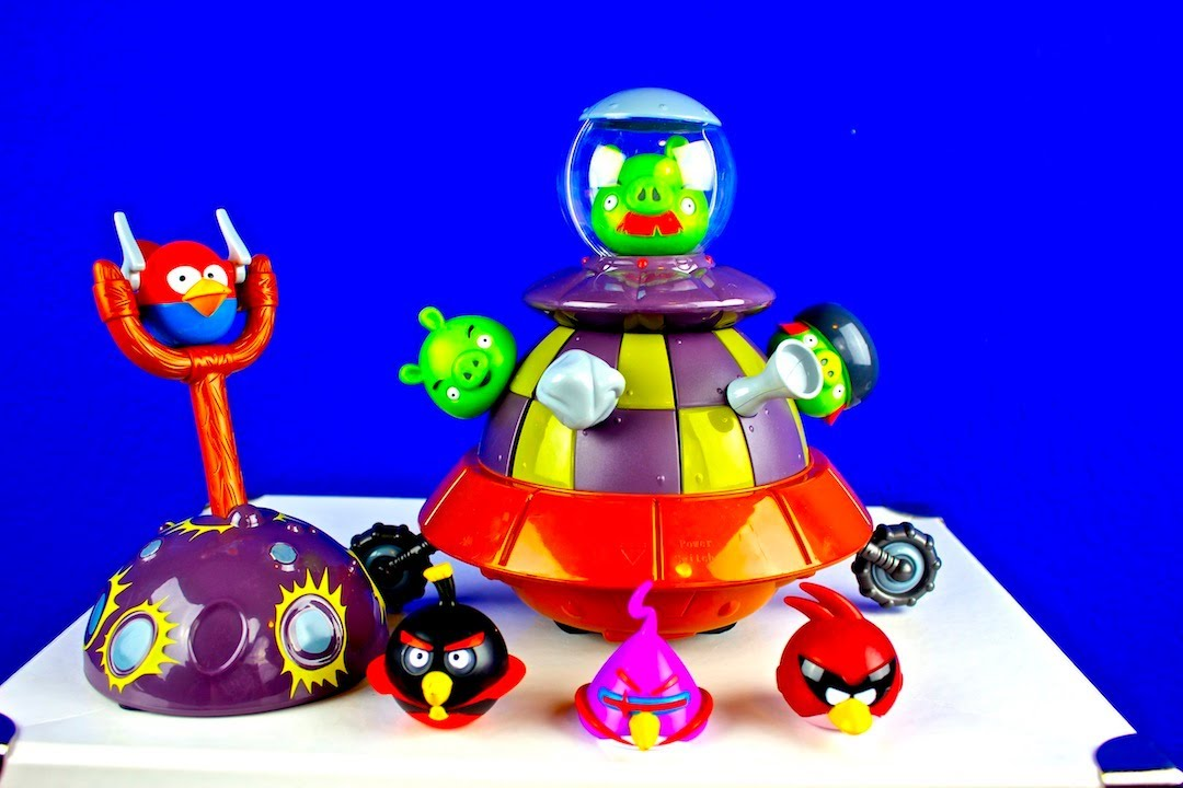Angry Birds Space Toys : Angry birds space toy that moves cool youtube