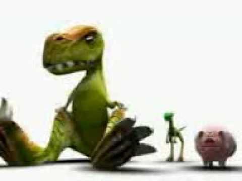 Динозавры и свинья
