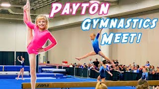 Payton's 1st Gymnastics Meet on Youtube!