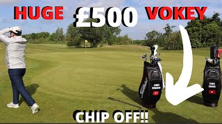 CHIP OFF Vs JAMES ROBINSON GOLF & GIVEAWAY ANNOUNCEMENT!!!