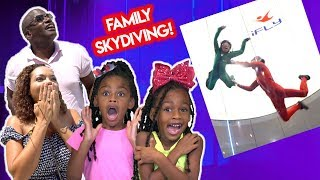 Kids React To Skydiving for the First Time