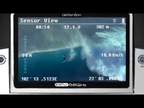 DEVO F12E аппаратура радиоуправления с функцией FPV