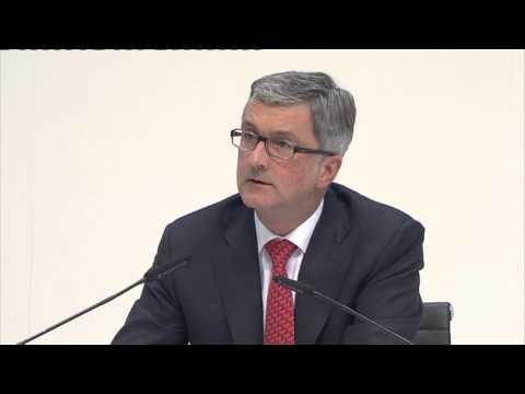 Audi Jahrespressekonferenz 2013 - Rede von Rupert Stadler (Teil 2)