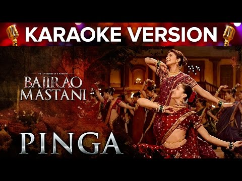 Pinga Song Karaoke Version | Bajirao Mastani | Priyanka Chopra & Deepika Padukone
