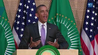 President Obama Address The African Union In Addis Ababa, Ethiopia :Full Speatch