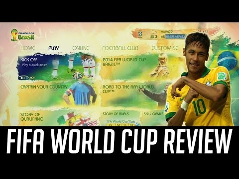 FIFA 14 World Cup Brazil Review with Gameplay (Attacking & Defense Opinions) - Worth the Price??
