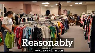 What is Reasonably? | How to Say Reasonably in English? | How Does Reasonably Look?