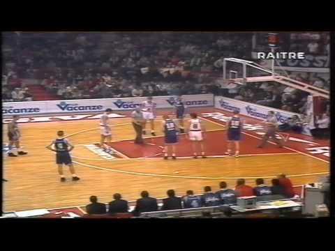 1995 Cagiva Varese vs Filodoro Fortitudo Bologna r.s.