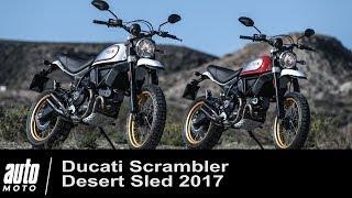 2017 Ducati Scrambler Desert Sled ESSAI Auto-Moto.com