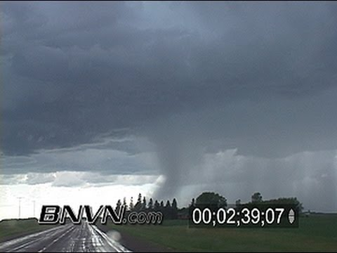 6/13/2005 Storm Chasing Dash Camera Video