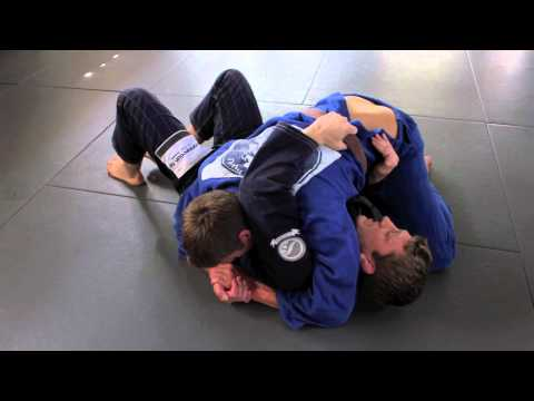 Reversal from side control, simple BJJ technique (variation) - Dennis Asche Image 1