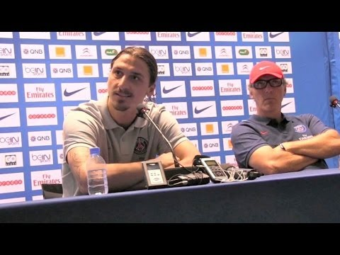Zlatan Ibrahimovic interview in Doha, Quatar - Woman soccer player and Lionel Messi questions