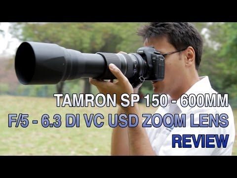 Tamron SP 150-600mm F5-6.3 Di VC USD Zoom Lens - Leederville Camerahouse TV Ep 001