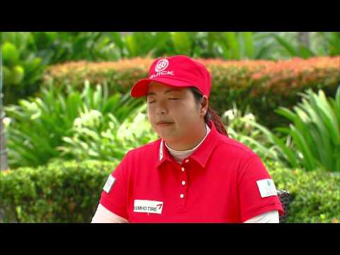 Live @ Sime Darby Interview with ShanShan Feng - Sime Darby LPGA Malaysia 2014