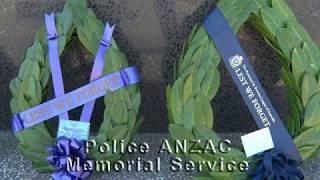 South Australia Police ANZAC Memorial Service - 2018