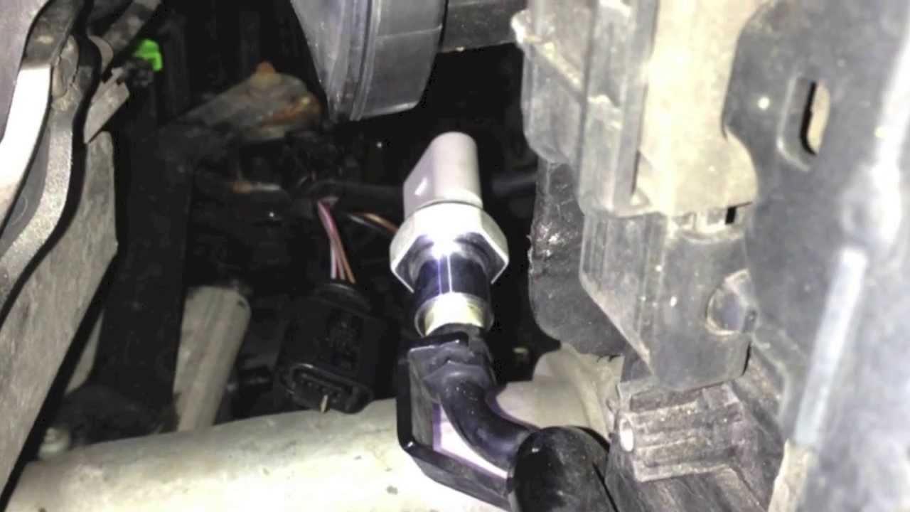 Reparatur Drucksensor Audi A 6 4b Youtube
