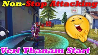 Non-Stop Attacking🔥|Free Fire Attacking Squad Ranked GamePlay Tamil|Ranked Match|Tips&TRicks Tamil