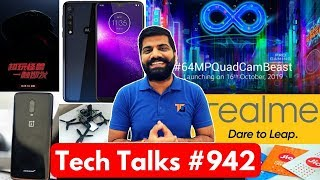 Tech Talks #942 - Redmi Note 8 Pro India Launch, Realme TV, Jio Fake 25GB, 7T Pro McLaren, Drone