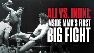 Inside MMA's first big fight: Muhammad Ali vs. Antonio Inoki