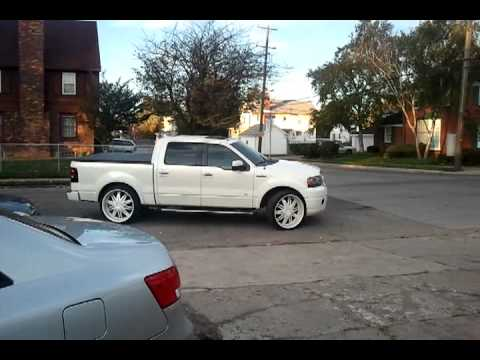 F150 Limited White On White 26 S Buttamik Youtube