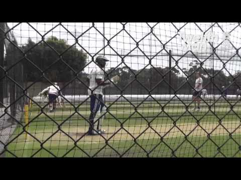 Michael Carberry & Alastair Cook Net Session