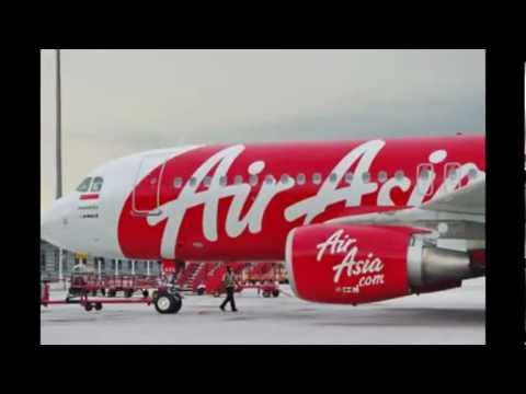 Airasia Airbus and Boeing - Malaysia.Indonesia.Thailand.Philippines and Japan