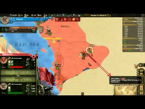 Mis-plays of EU3: DW Phoenix mod as Ancient Egypt - Part 6