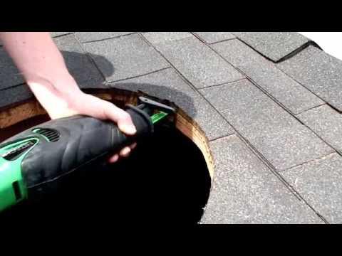 Diy Solar Powered Attic Fan Professional Install High